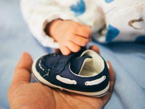zimowe buciki niemowlęce
