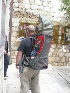 nosidełko turystyczne dla dziecka